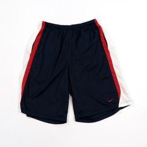 "Vintage Nike Mini Swoosh 11"" Basketball Gym Shorts"